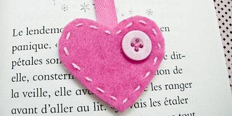 Make a Heart Bookmark (4-8 años) entradas