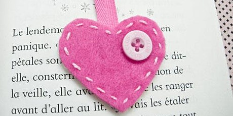 Make a Heart Bookmark (7-12 años) entradas