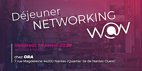 Déjeuner  Networking février billets