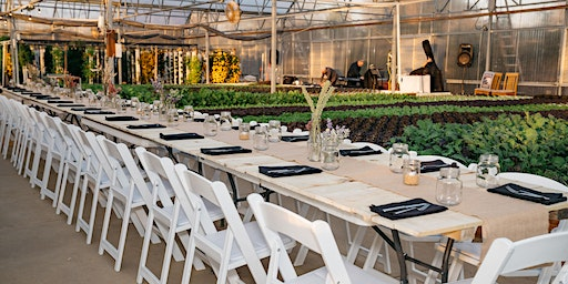 Valentine's Day Greenhouse Tour and Romantic Dinner