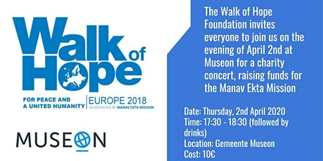 Walk of Hope Charity Concert tickets