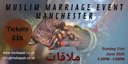 Single Muslim Marriage Event, Manchester