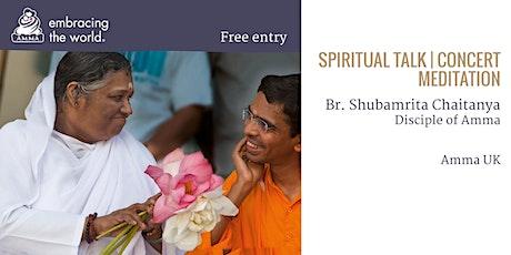 An evening with Br. Shubamrita tickets