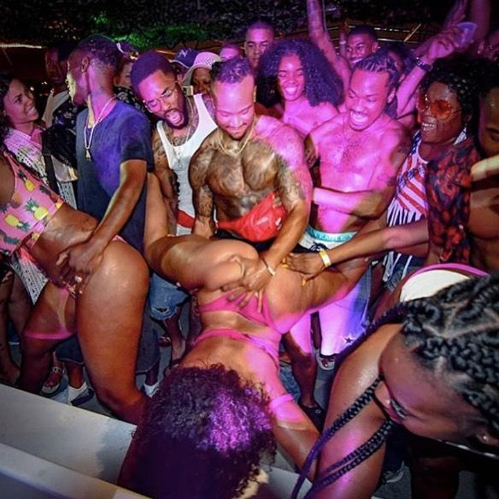 Miami Party Boat - Twerk contest &  Unlimited drinks included image