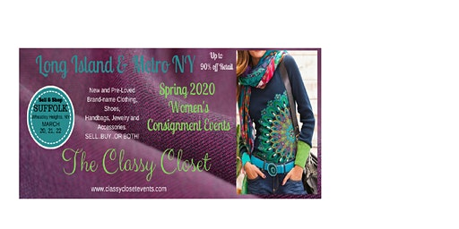 "Classy Closet Long Island Women's Consignment Event ""Ladies Night Out"" Presale Event"