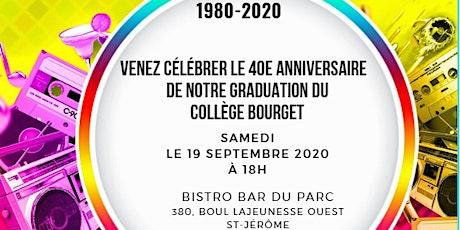 40e anniversaire - Graduation du Collège Bourget billets