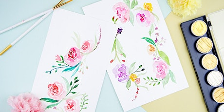 Floral Watercolor Workshop - POSTPONED tickets