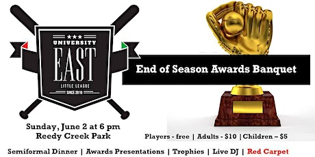 2020 End of Season Red Carpet Awards Banquet aka Trophy Day tickets
