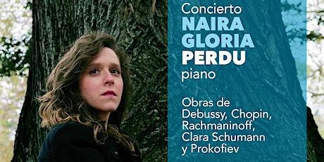 Concierto Naira Gloria Perdu, piano (Sábado 29  febrero  2020 a las 20:30h) entradas