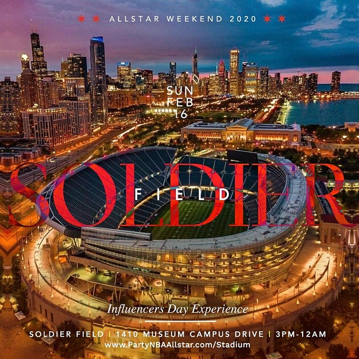 SUNDAY @ SOLDIER FIELD! DAY/VIEWING/AFTER PARTY image