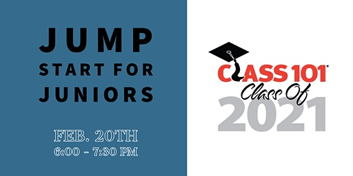 Class of 2021 - Junior Jump Start