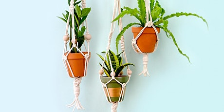 Make a Beautiful Macrame Plant Hanger tickets