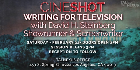 CineShot   Writing for TV tickets