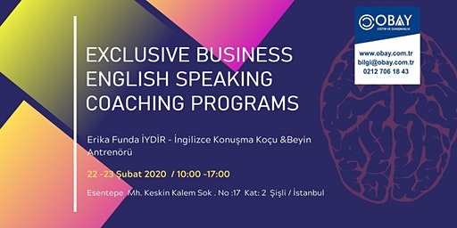 Exclusive Business English Speaking Coaching Programs - Ücretli