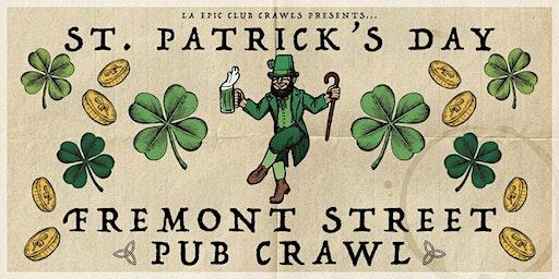 The Official St Patrick's Day Pub Crawl - Fremont Street Las Vegas - SATURDAY
