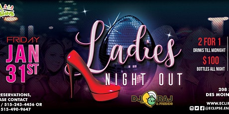 Ladies Night Out at Voodoo Lounge with DJ RAJ tickets
