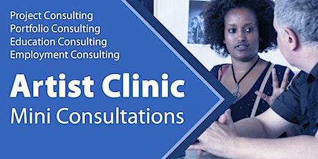 Artist Clinic : Mini Consultations tickets