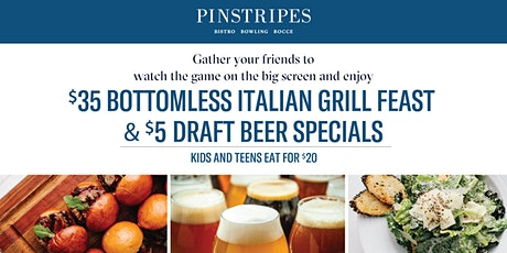 Super Bowl Party at Pinstripes Overland Park tickets