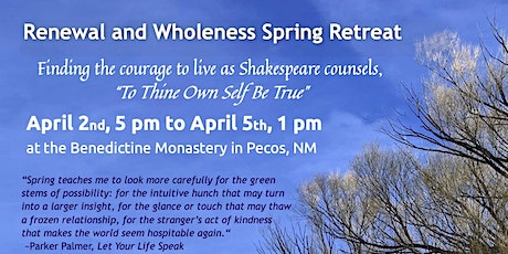 Renewal and Wholeness Spring Retreat tickets