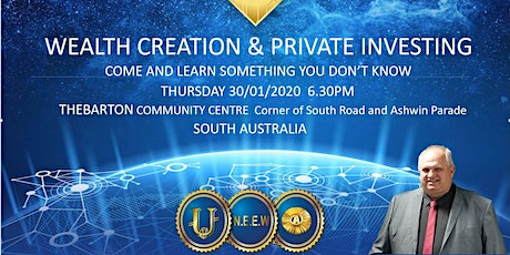 Wealth Creation & Private Invesing tickets