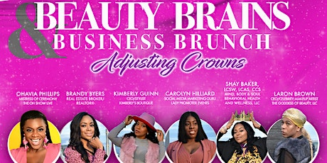 Beauty Brains and Business Brunch tickets