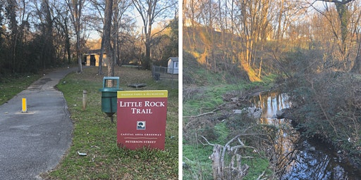 Southeast Raleigh Community Clean-Up at Little Rock Creek