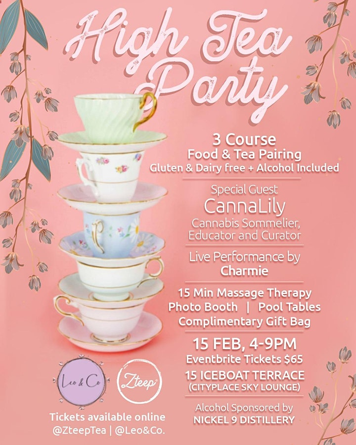 High Tea Party Presented by Zteep Tea and Leo & Co. image