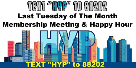 Houston Young Professionals Membership Meeting and Happy Hour tickets