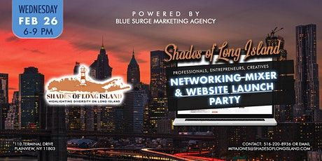 Professional Networking Mixer & Website Launch for Shades Of Long Island tickets