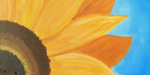 Sunflower Painting with Kathy Anthony