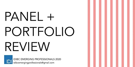 IDIBC Portfolio Event 2020 tickets