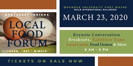 NE Indiana Local Food Forum tickets