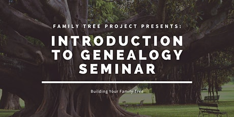 Introduction to Genealogy tickets