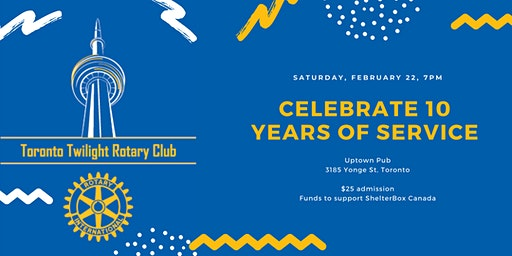 Toronto Twilight 10th Anniversary Party