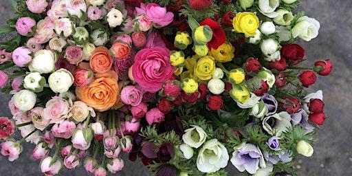 Seasonal Flower Focus: Anemones and Ranunculus