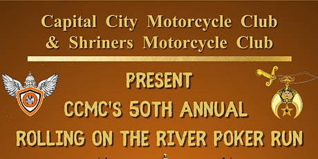 50th Annual Rolling on the River Poker Run tickets