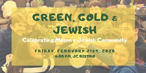 Green, Gold & Jewish - Celebrating Mason's Jewish Community