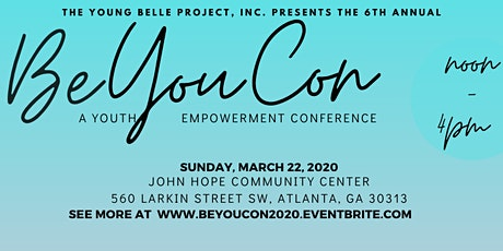 BE YOU CON 2020: A YOUTH EMPOWERMENT CONFERENCE tickets