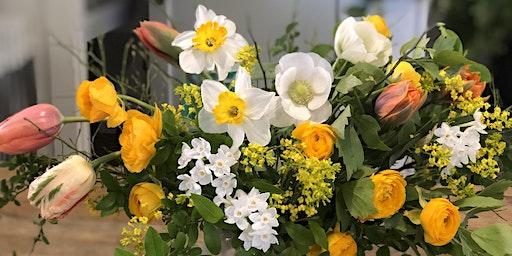 Spring Flower Arranging for Mother's Day