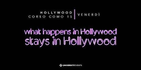 Hollywood Milano Venerdi 31 Gennaio 2020 X Info 392-9848838 biglietti