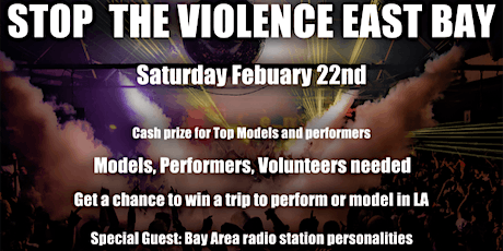 Stop The Violence East Bay with We Rock with Talent tickets
