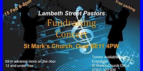 Fundraising Concert tickets