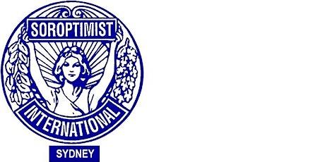 Soroptimist International  Sydney   IWD  Inspirational Evening tickets