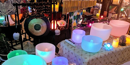 Sound Bath Meditation with Crystal Singing Bowls and More