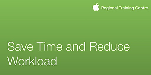 Save Time and Reduce Workload with iPad