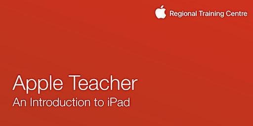 Apple Teacher- An Introduction to iPad