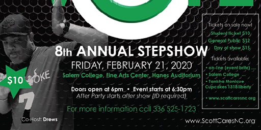 8th Annual ScottCares StepShow