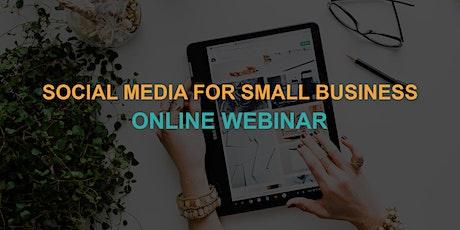 Social Media for Small Business: Online Webinar tickets