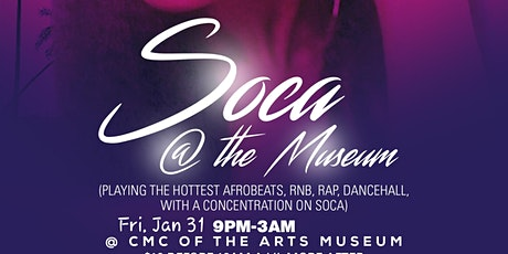 Soca @ the museum tickets