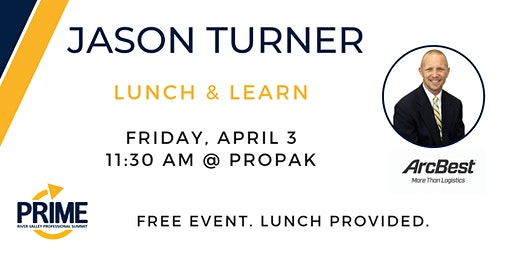 Prime Lunch & Learn with Jason Turner